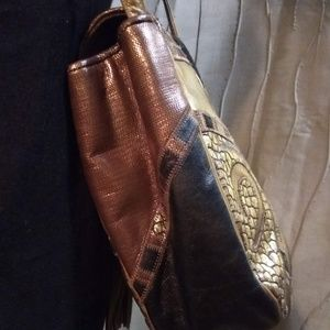 Sharif Bags - Sharif Vintage 1980's Leather Crossbody Purse